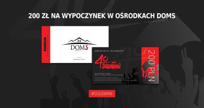 200 zł na urlop w DOMS