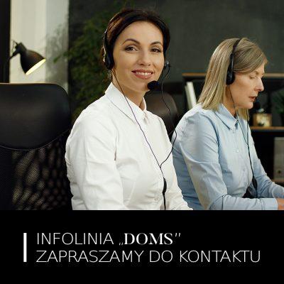 Infolinia DOMS – Zapraszamy do Kontaktu